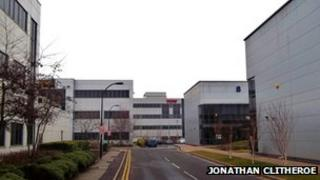 Sheffield business park