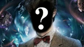 Dr Who image with question mark over his face.