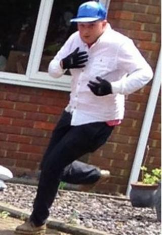 Man Bedfordshire Police want to talk to in relation to an attempted burglary