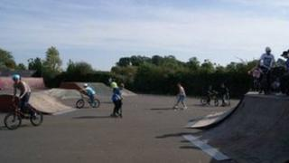 Desborough skatepark