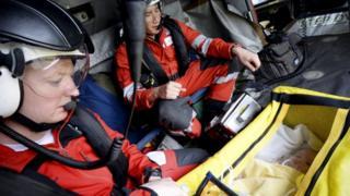 HMS Gannet rescue