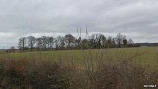 Farmland near Bourne