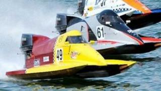 Catamarans on Oulton Broad