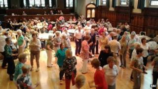 Shopping Tea Dance live in the newly-refurbished Guildhall.