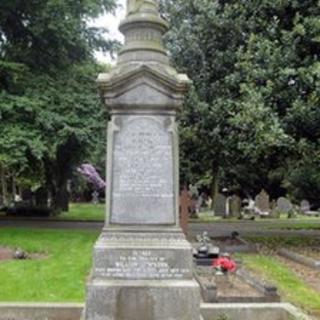 Johnson family grave