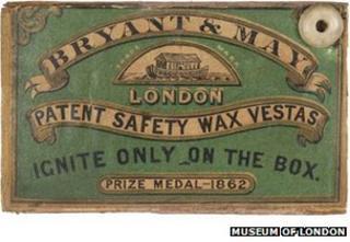 Bryant & May matchbox