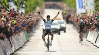 Mark Cavendish won the men's rave in Glasgow
