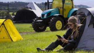 Wi-fi tractor