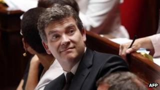 French Industry Minister Arnaud Montebourg - file pic