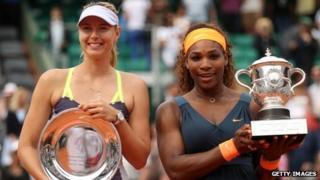 Maria and Serena