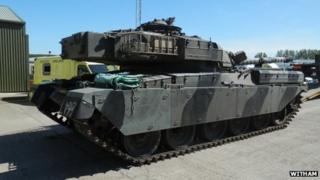 Chieftain battle tank