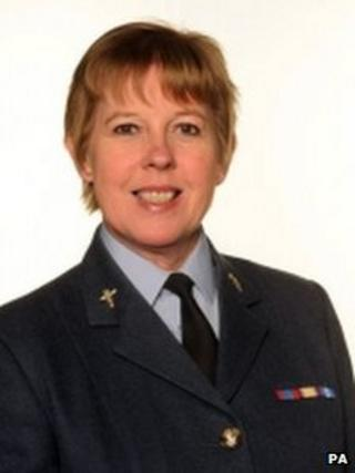 Group Captain Wendy Williams