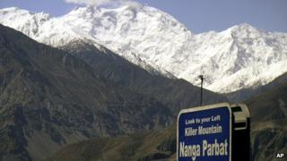 File photo of Nanga Parbat (May 2004)