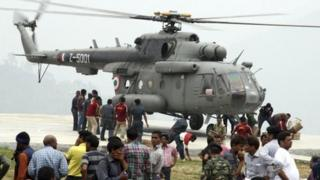 The Indian Air Force has been at the forefront of rescue efforts in the flood-hit areas of Uttarakhand