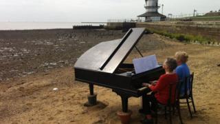 Piano at Harwich