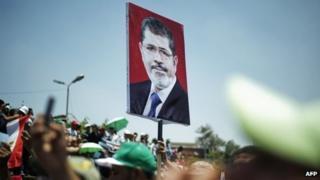 Pro-Morsi demonstration in Cairo (21/06/13)