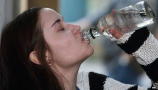 In EastEnders, the character of Lauren becomes addicted to alcohol