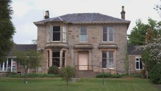 Victorian mansion in Helensburgh, Scotland