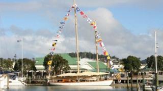 File photo of the yacht Nina