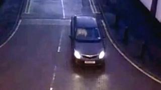Corby nightclub killing: CCTV of car