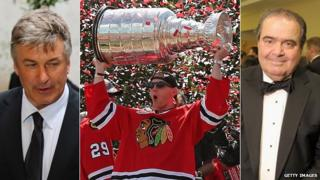 Alex Baldwin, the Stanley Cup, and Anton Scalia