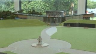 Proposed Capel Le Ferne visitor centre
