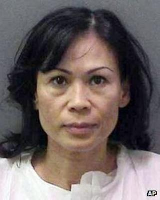 Undated police photo of Catherine Kieu