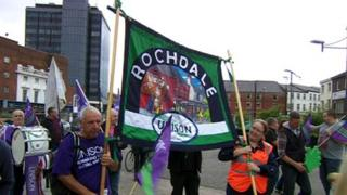 Future Directions rally in Rochdale