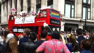 London Pride parade
