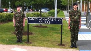 James Ashworth VC Square, Corby