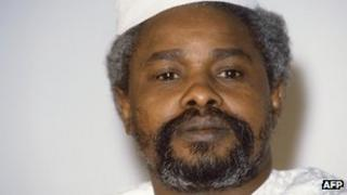 Former Chad President Hissene Habre