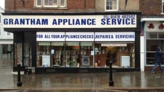 Grantham Appliances before the facelift