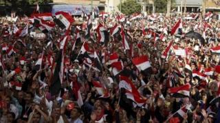 Demonstration in Alexandria - 30 June