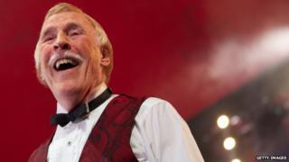 Bruce Forsyth at Glastonbury