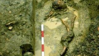 Roman burial