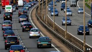 Motorway congestion