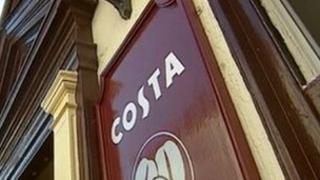 Costa Coffee sign