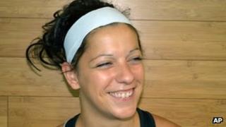 Acrobat Sarah Guillot-Guyard, 31