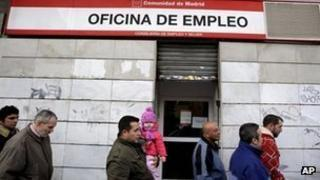 Spain's unemployment rate is the highest in the eurozone