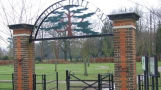 Gates of Houghton Hall Park
