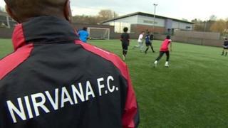 Nirvana FC training