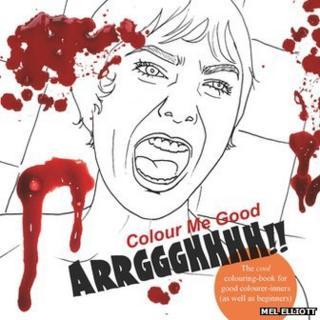 Cover of Colour Me Good Arrggghhhh!! (Copyright Mel Elliott)