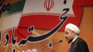 Hassan Rouhani (29 June 2013)