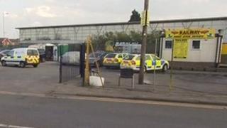 Scene of shootings in Gillingham