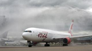 Air canada rouge aircraft