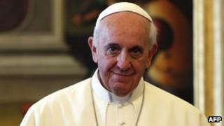 Pope Francis in Vatican, 4 Jul 13