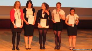 Ullapool High School team