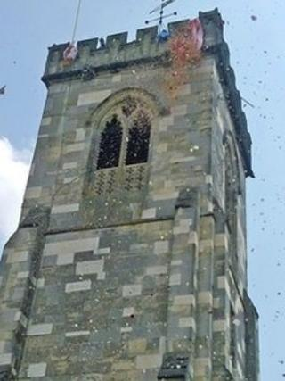 Petal Service at St Thomas's Church Salisbury