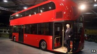 Double-deckers for London Transport