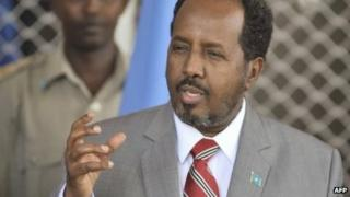 President Hassan Sheikh Mohamud (file photo)
